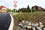 Nový povrch silnice v Nádražní ulici v Turnově