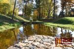 Začátek podzimu v Palackého sadech a parku Ostrov v Semilech