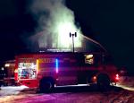 Požár Jilemnické boudy na Horních Mísečkách