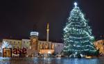 Vánoční strom v Hostinném