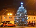 Obrazem: Vánoční výzdoba na Jilemnicku 2020