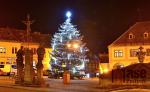 Vánoční strom v Jilemnici