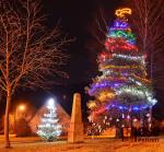 Vánoční strom v Hrabačově