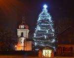 Vánoční strom v Horní Branné