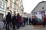 Odhalení pamětní desky Rudolfu Hlavovi na budově semilského muzea