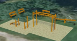 Vítězný návrh - rekonstrukce hřiště na Hruštici