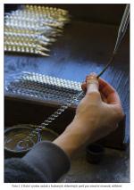 Výroba ozdob ve firmě Rautis v Poniklé