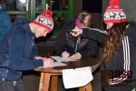 Zastávka protestní rakve krkonošských podnikatelů ve Vrchlabí