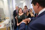 Návštěva ministryně financí Schilllerové v turnovském TOPTEC