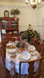 Vánočně vyzdobený Valdštejn
