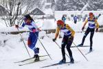 Tereza Koldovská (2) na trati s dvojicí německých konkurentek