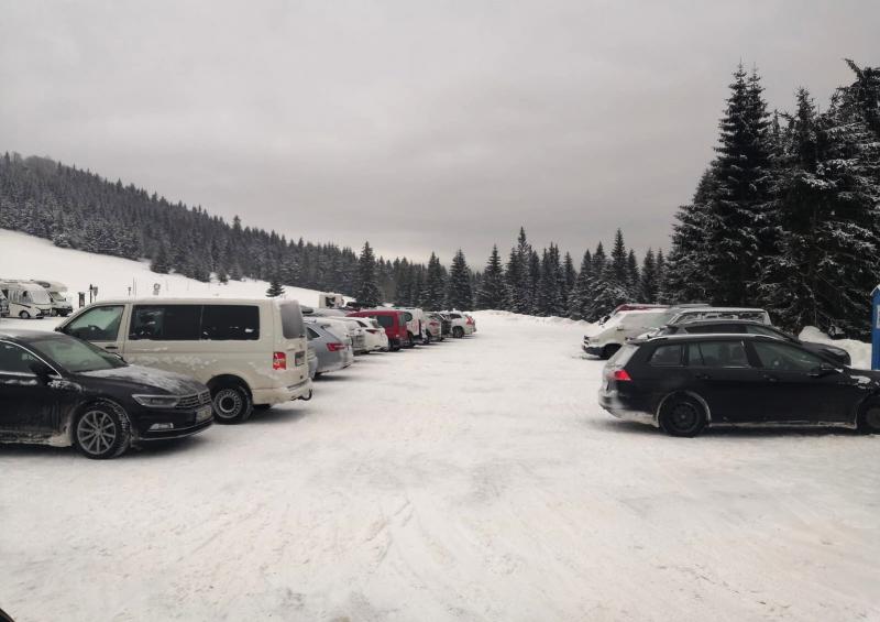 Parkoviště na Jizerce a v Horním Polubném<br />Autor: Archiv Policie ČR