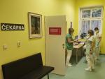 Očkovací centrum v semilské nemocnici