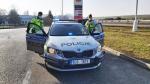 Kontrola elektronických dálničních známek na dálnici č. D10 v úseku Libereckého kraje mezi Turnovem a Svijany