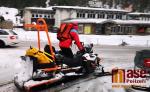 Zásah záchranářů a horské služby ve Špindlerově Mlýně po spadnutí lavin v Krkonoších