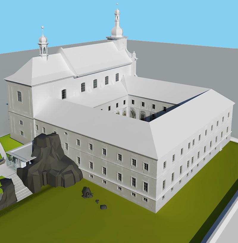 Rekonstrukce bývalého augustiniánského kláštera ve Vrchlabí