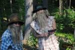 Obrazem: Loupežníci a čarodějnice strašili v Pohádkovém lese