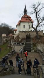 Česká televize natáčela na Valdštejně dětský pořad Planeta Yó
