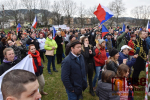 Obrazem: Stovky lidí podpořily ředitele Waldorfské školy v Semilech