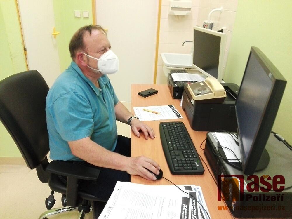 Očkovací centrum v Semilech<br />Autor: Petr Ježek