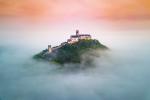 Hrad Bezděz v mlze