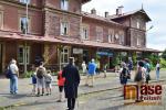Komentovaná prohlídka historického martinického nádraží a muzea s hrabětem Harrachem