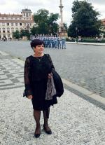 Vladimíra Jakouběová na Pražském hradě