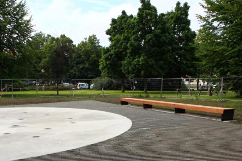 Nový park T. G. Masaryka v Turnově