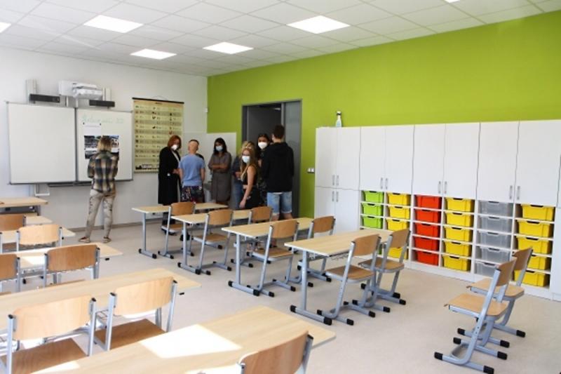 Otevření nově zrekonstruované základní školy v Mašově<br />Autor: Zdenka Štrauchová