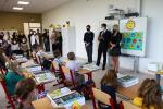Vítání prvňáčků na mašovské škole