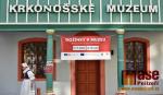 Dožínky na zahradě za historickými domky Krkonošského muzea ve Vrchlabí
