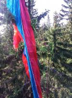 Záchrana paraglidistky pod Černou horou v Krkonoších