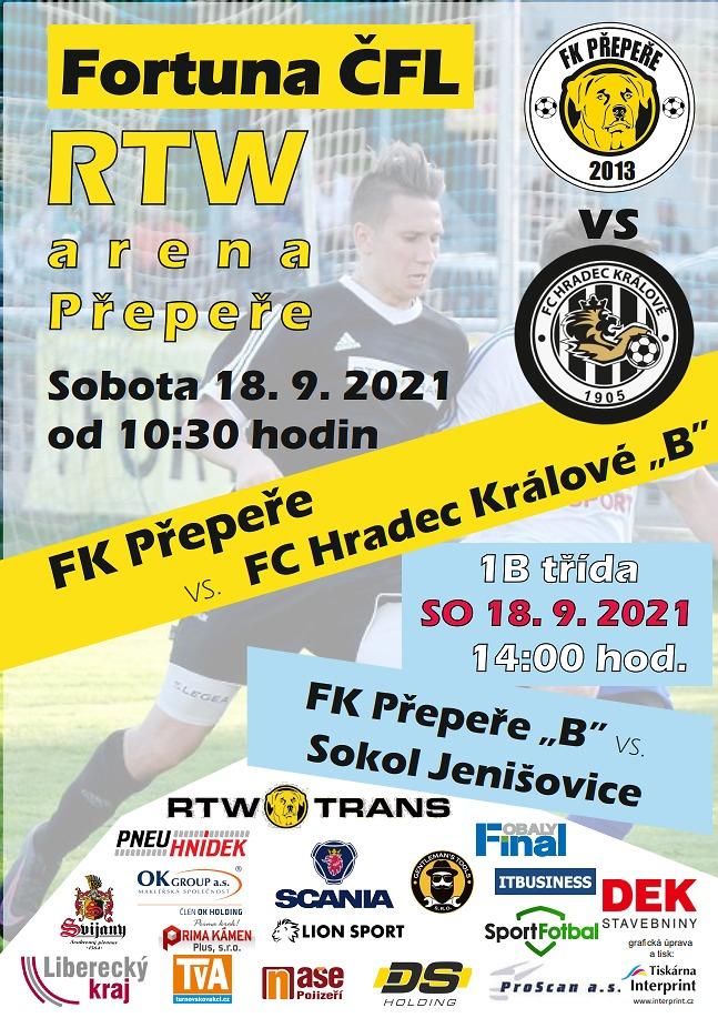 Pozvánka na utkání ČFL FK Přepeře - FC Hradec Králové B_preperepozvanka_hradec_plakat_(2).jpg