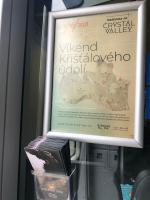 Představení Křišťálového vlaku na nádraží v Železném Brodě