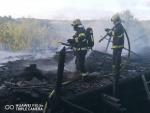 Hořela chalupa v Benešovské ulici v Semilech