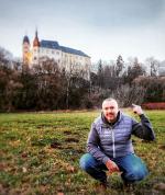 Zámek Hrubý Rohozec s dosavadním kastelánem Jiřím Holubem