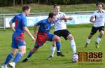 Utkání krajského přeboru FK Turnov - FK Slovan Hrádek nad Nisou