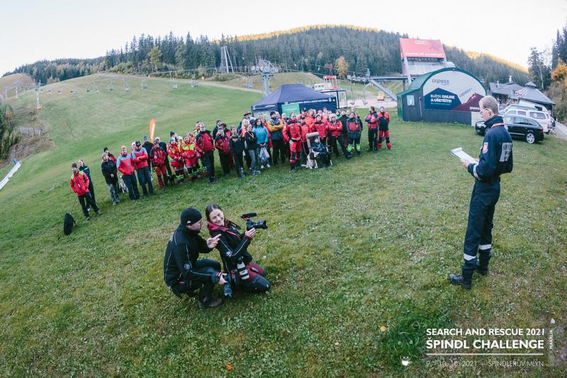 Search and Rescue 2021 - Špindl Challenge<br />Autor: Horská služba Krkonoše