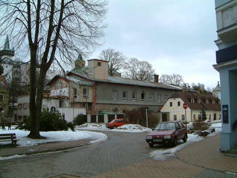 Továrna Vista Semily před rekonstrukcí<br />Autor: Archiv města Semily