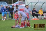 Utkání krajského přeboru FK Sedmihorky -  FK Turnov