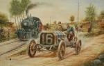 Obrazy automobilového světa odhalí výtvarníci Rameš a Zapadlo
