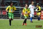Radost z gólu prožívají stejně velcí i malí