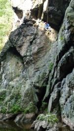 Hasiči zachraňovali horolezce na Riegrovce! Jen jako, při cvičení